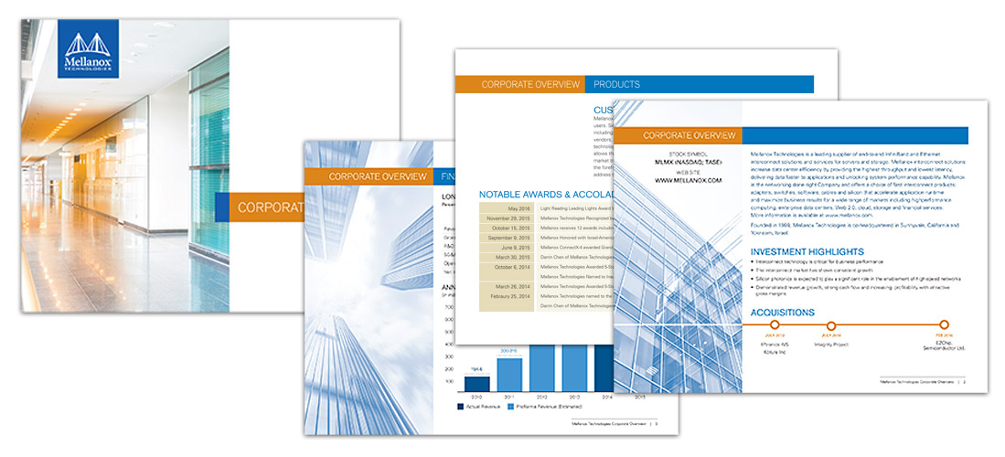 Mellanox Corporate Brochure